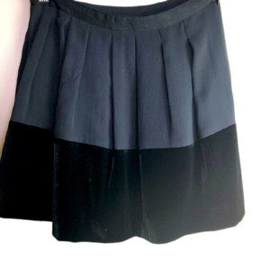THEORY Mini Skirt black pleated SZ:2